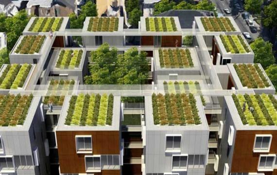 frankreich beweist mit dachbepflanzungen seinen gr nen daumen gruenstifter. Black Bedroom Furniture Sets. Home Design Ideas