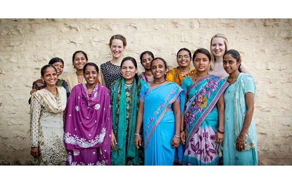 Kleidung der frauen in indien