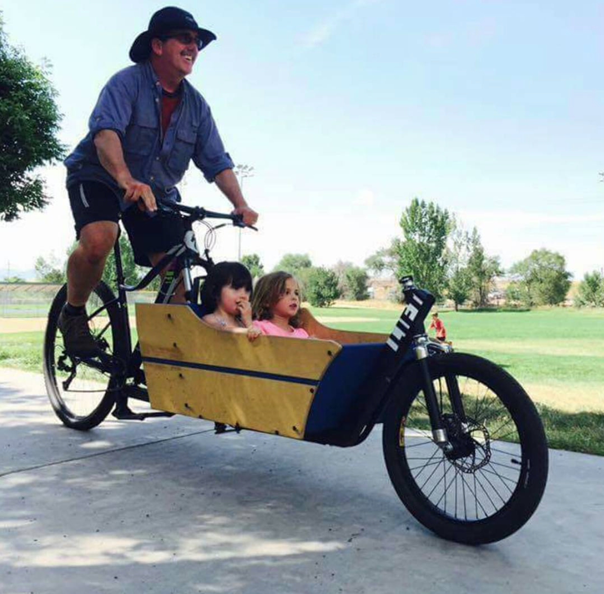 Ein Argo Cargo Bike in Aktion. Quelle: https://argobikes.com/